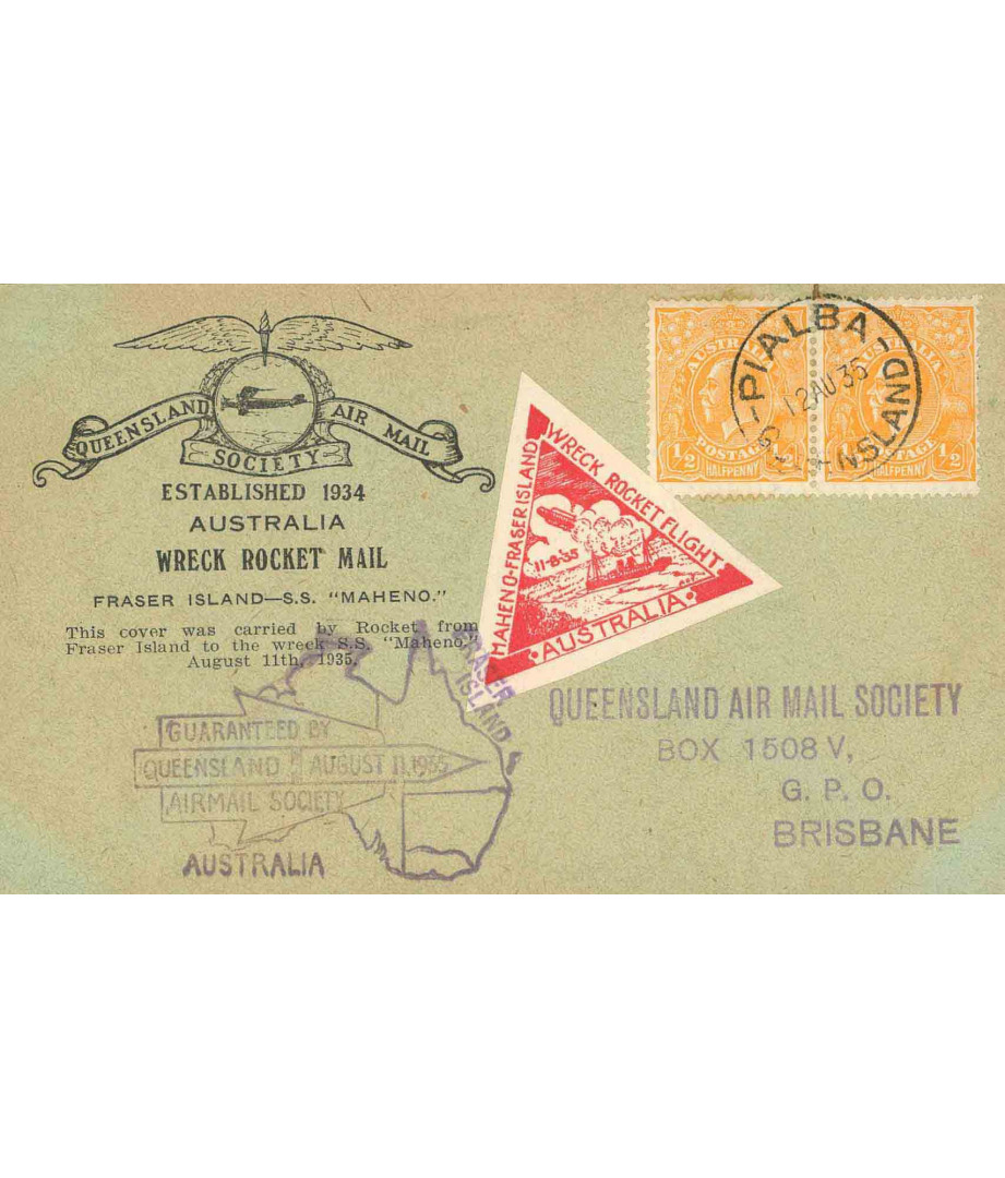 Australia - 1935 - Australian Rocket...