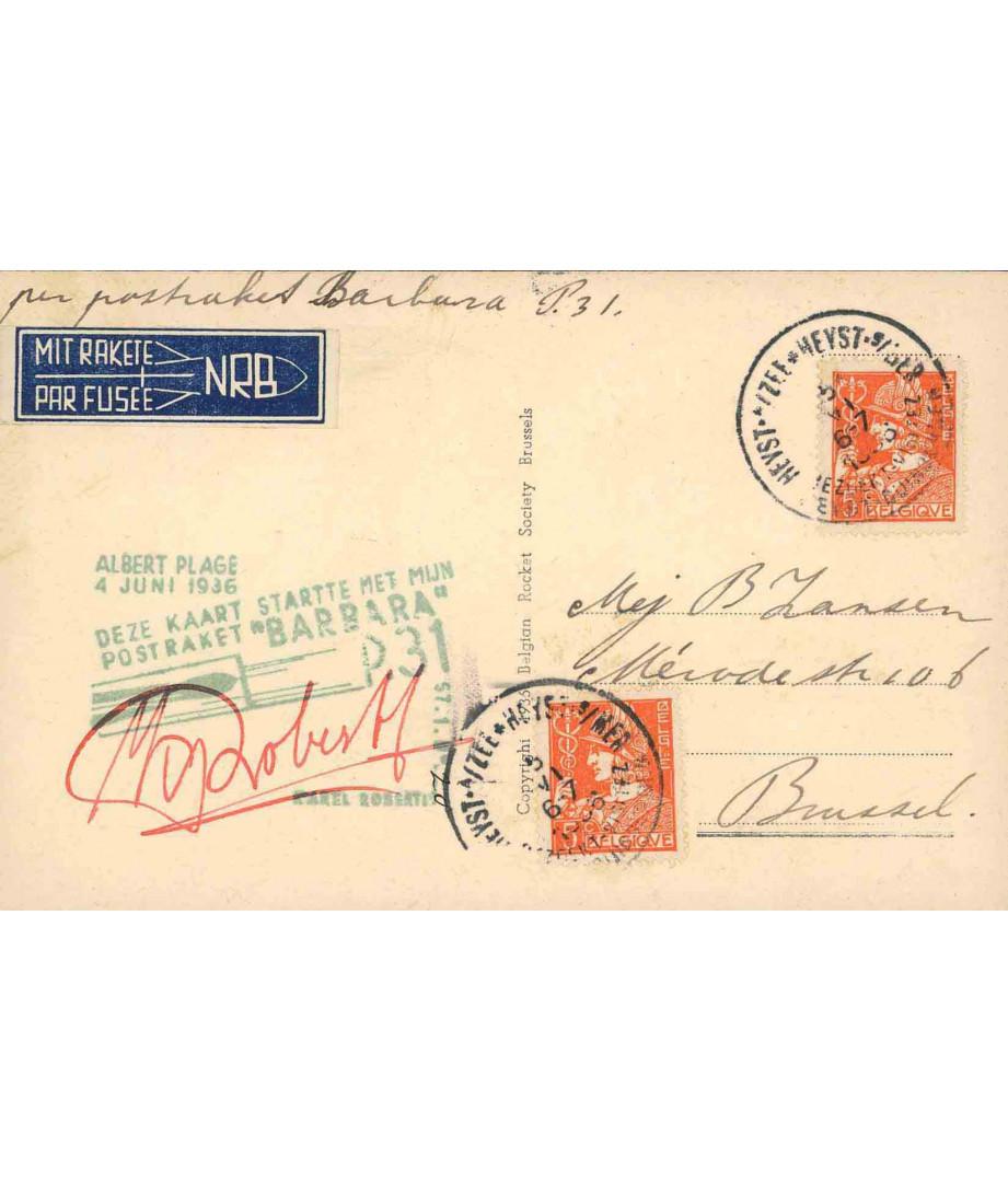 Belgio - 1936 - C.Roberti - Barbara...