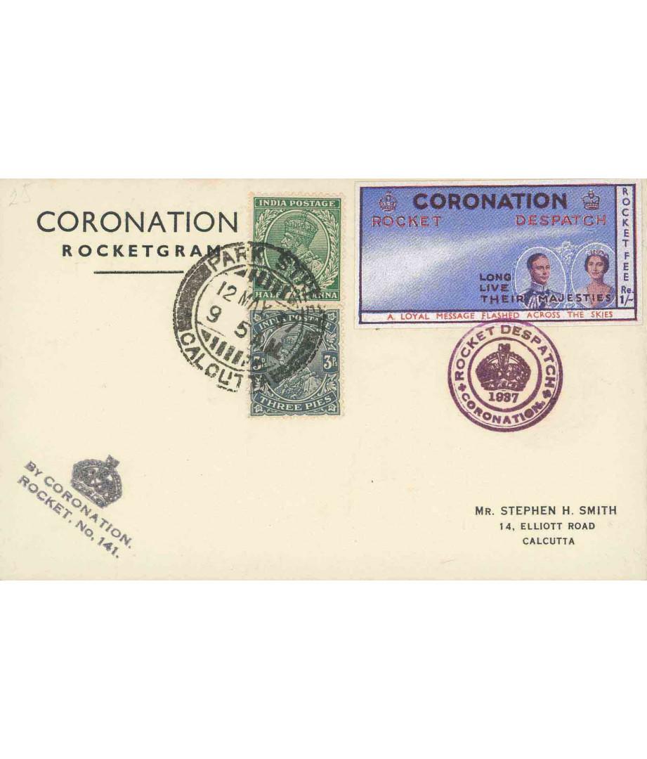 India - 1937 - S.H.Smith - Coronation...