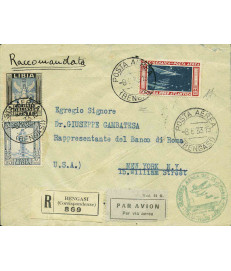 Cirenaica - 1933 - Italo...
