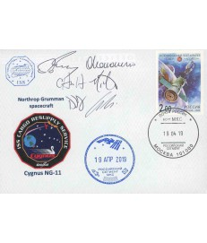 ISS - 2019 - Cygnus NG-11