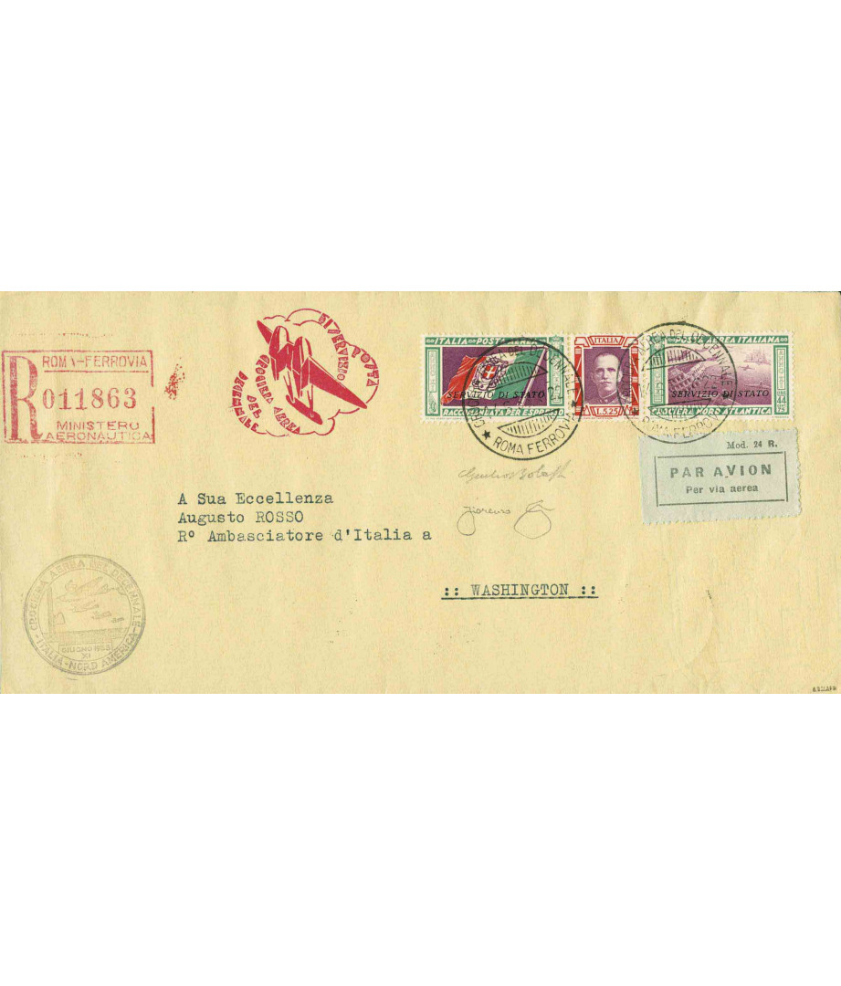 Italia - 1933 - Crociera Nord...