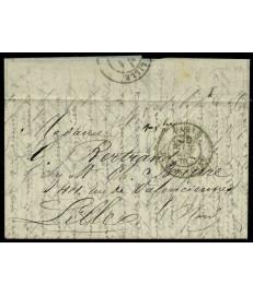 Francia - 1870 - Ballon...
