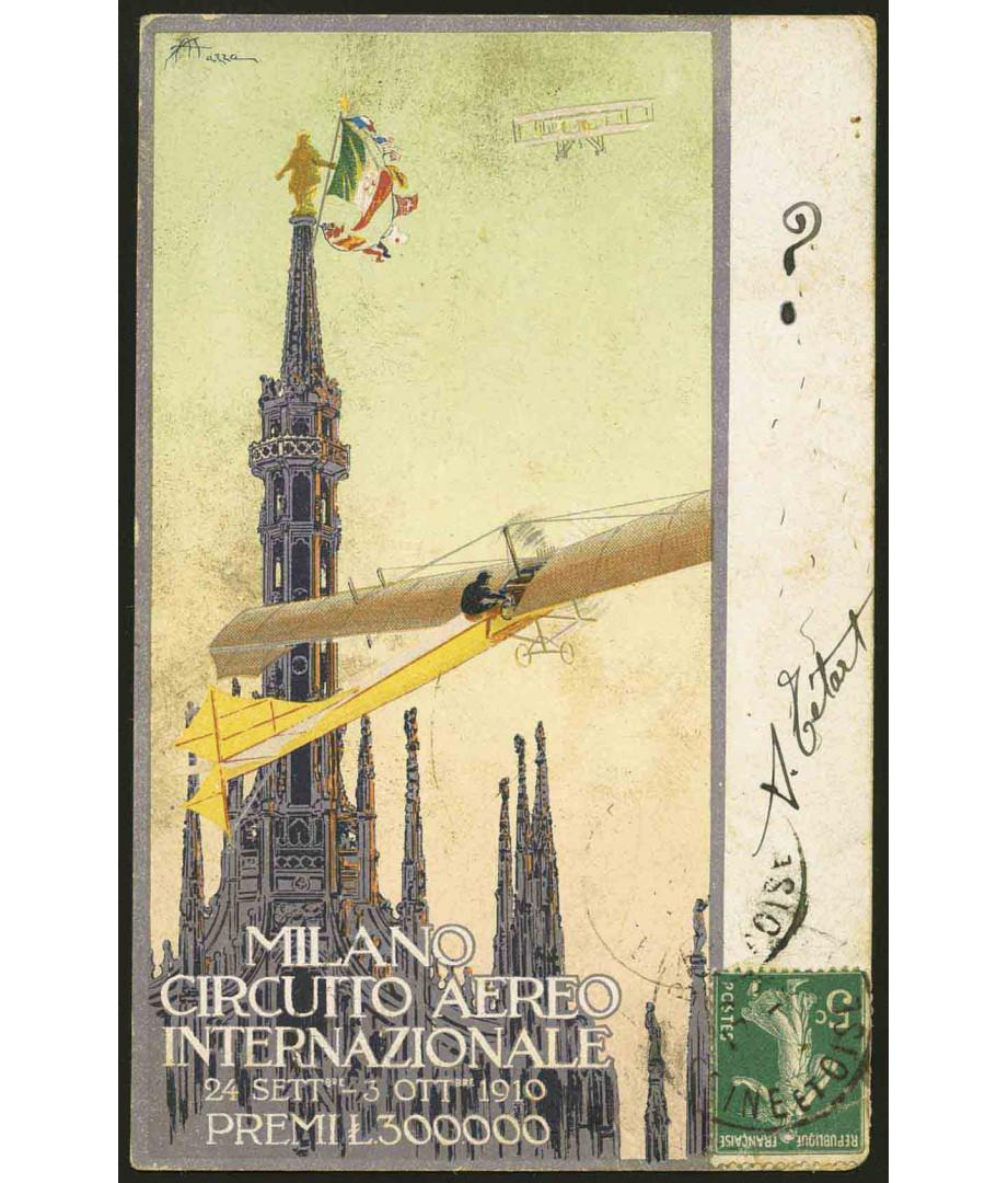 1910 - Milano, Circuito Aereo...