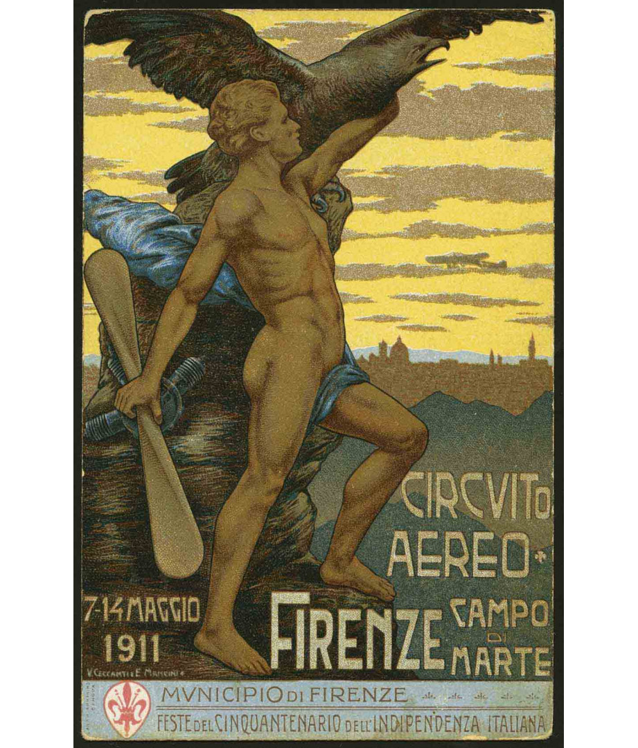 1911 - Firenze Campo di Marte -...