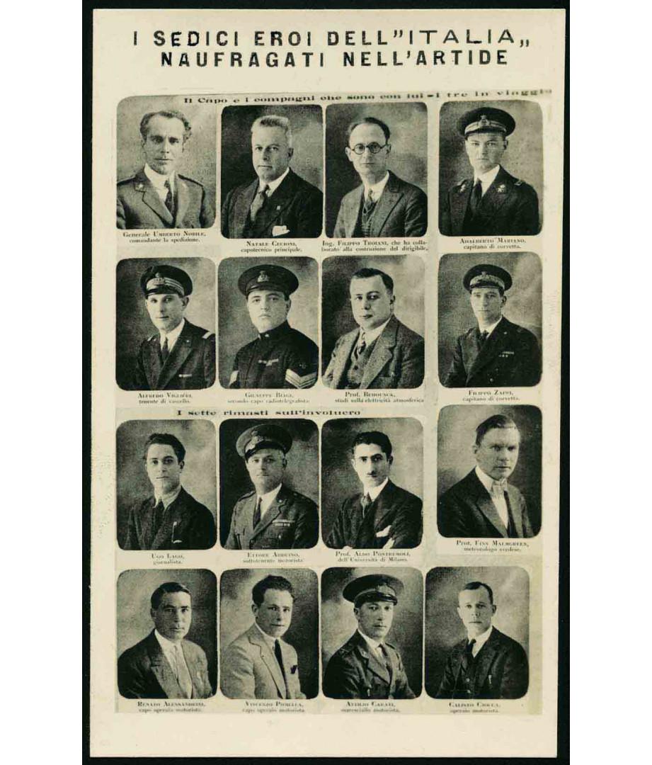 1928 - I sedici eroi dell'Italia...