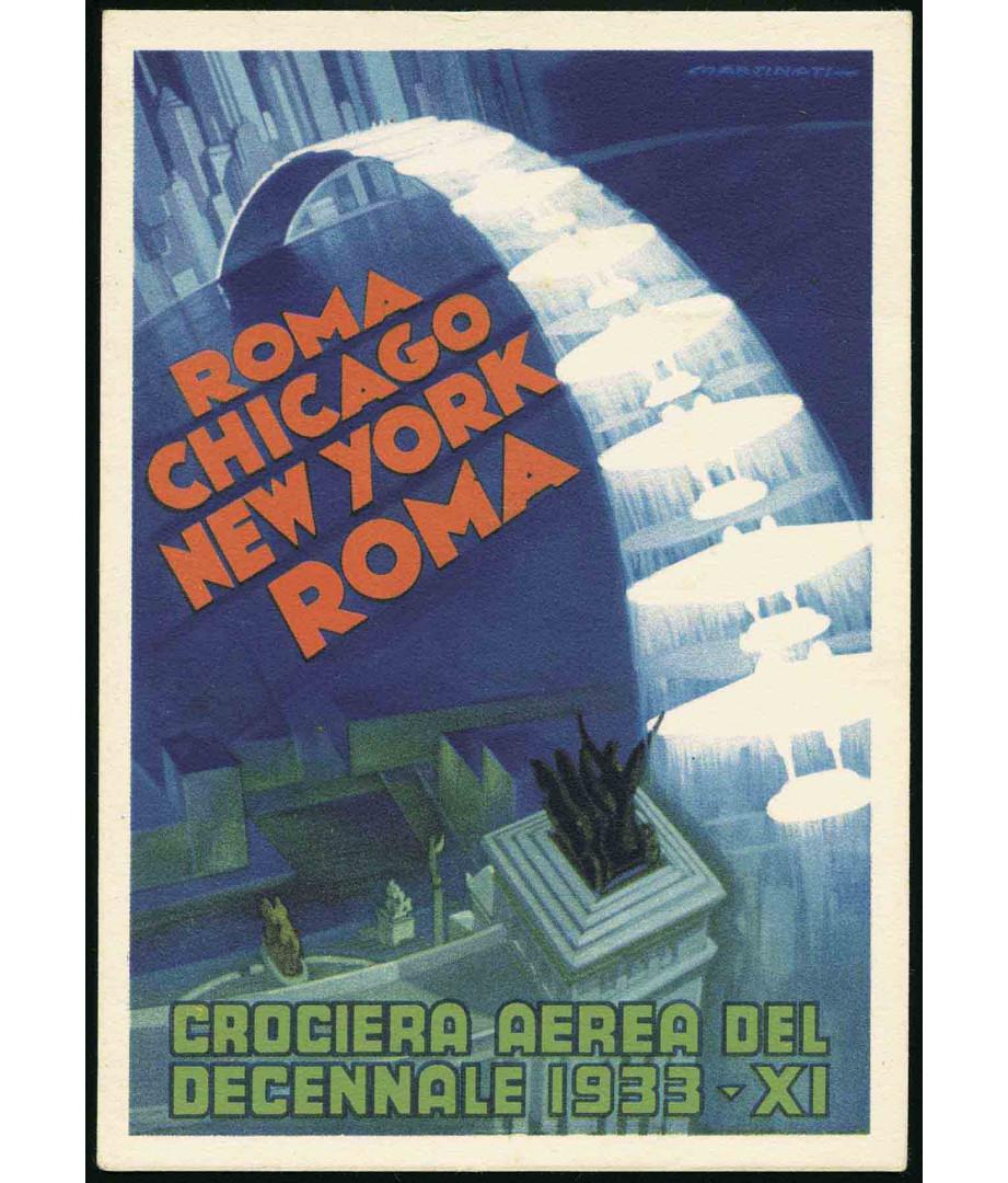 1933 - Crociera Aerea del Decennale...