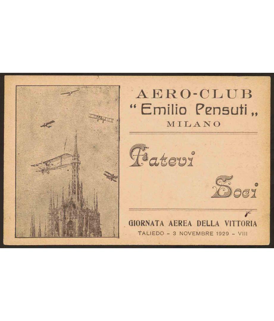 1929 - Giornata aerea della Vittoria...