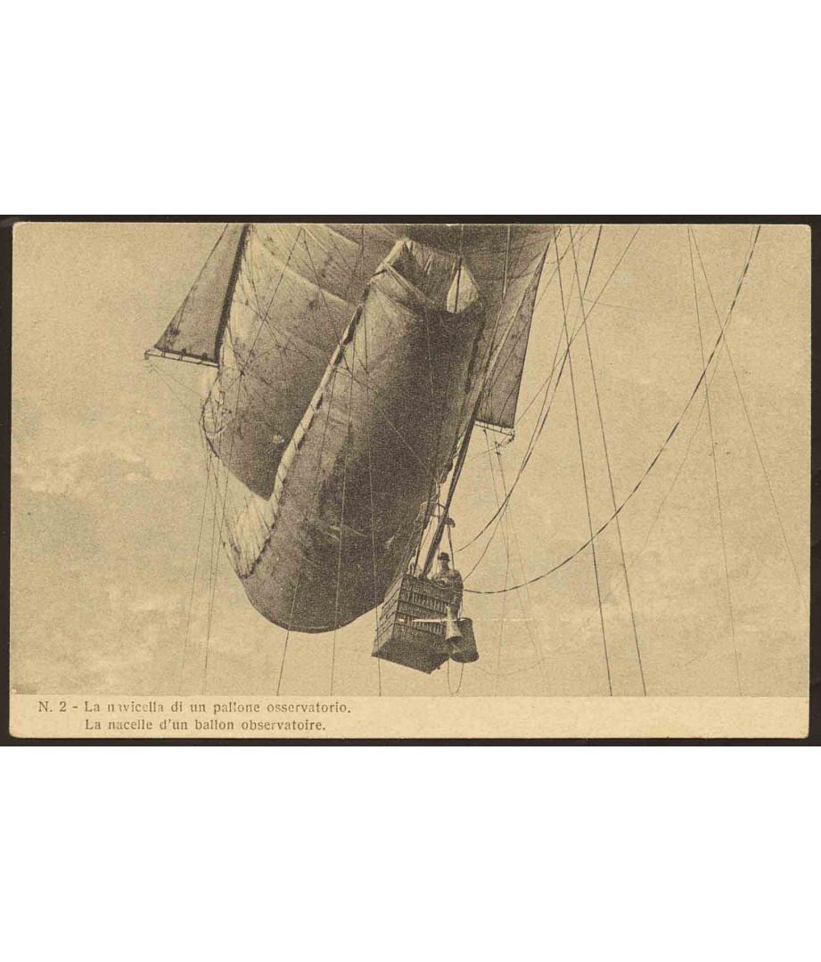 N.2 La navicella di un pallone...