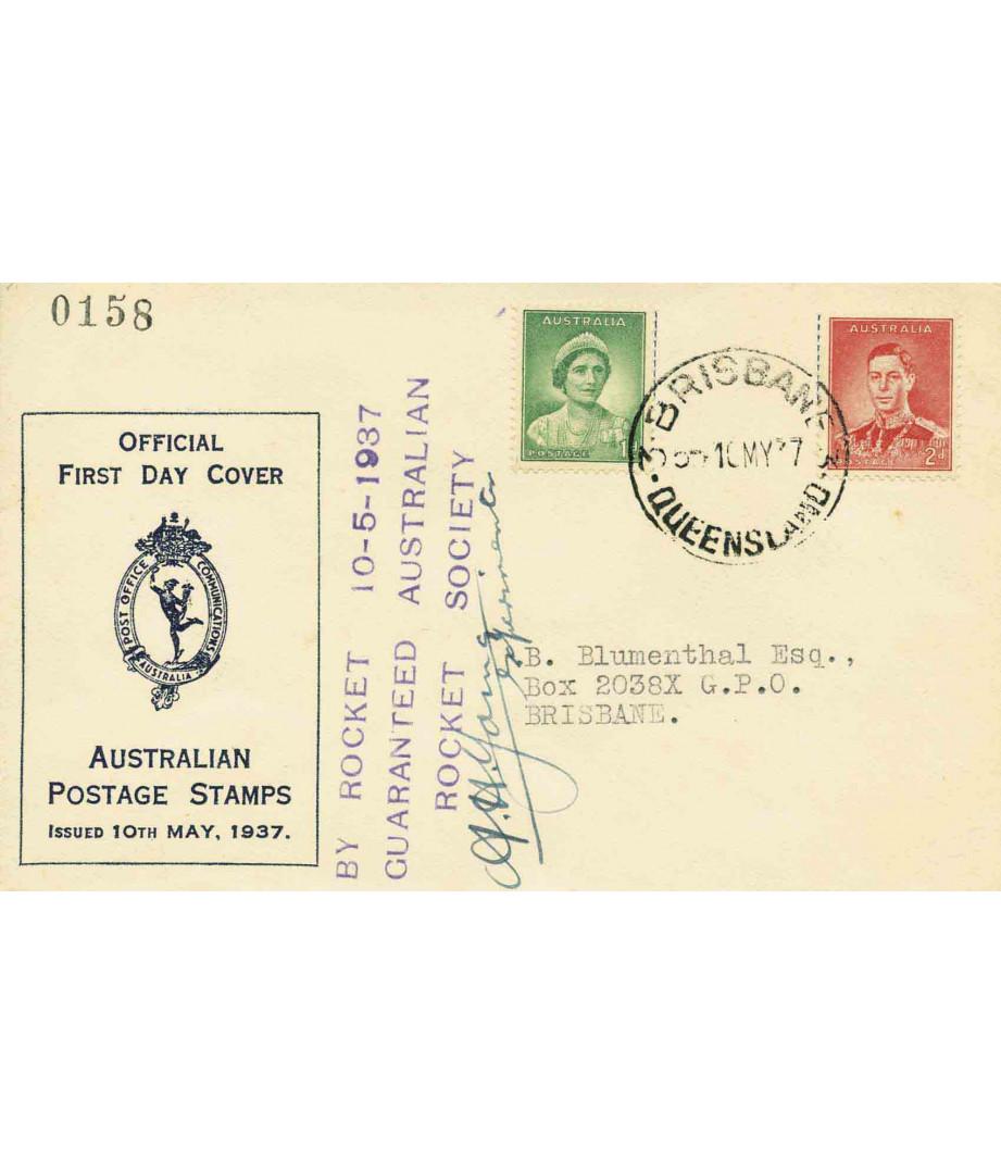 Australia - 1937 - Australian Rocket...