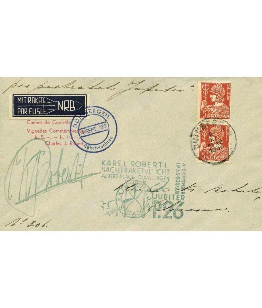 Belgium - 1935 - C.Roberti - Jupiter...