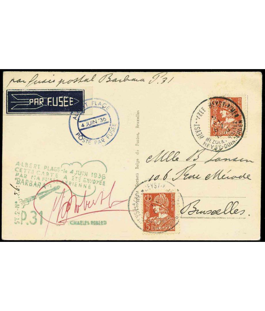 Belgium - 1936 - C.Roberti - Barbara...