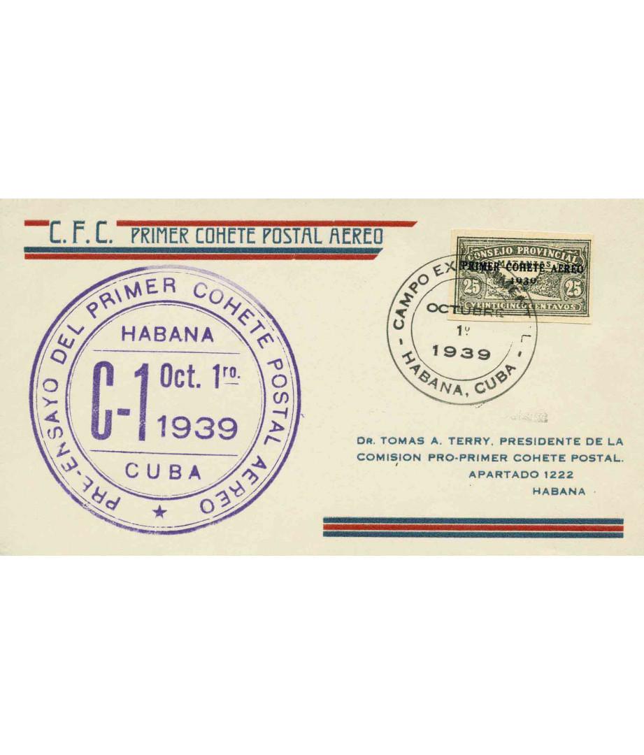 Cuba - 1939 - A.V.Funes, 1.10.1939