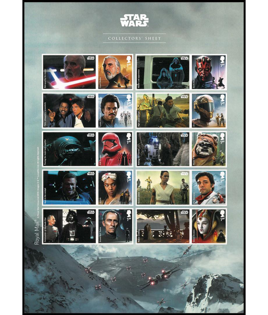 Star Wars - 2019 - Collectors' sheet...