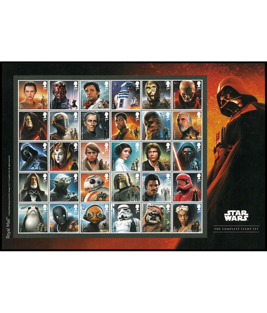 Star Wars - 2019 - The complete Stamp...