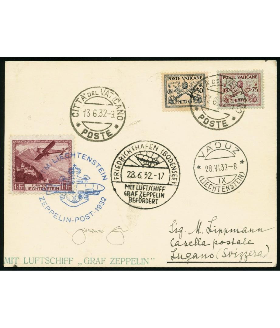 Vatican City + Liechtenstein - 1932 -...