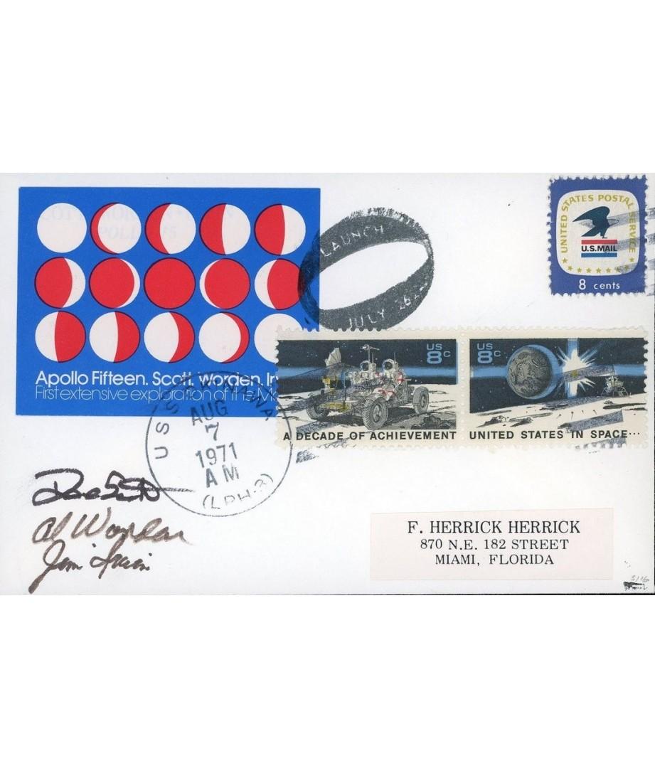 """USA - 1971 - APOLLO 15 """"Phases of the..."""