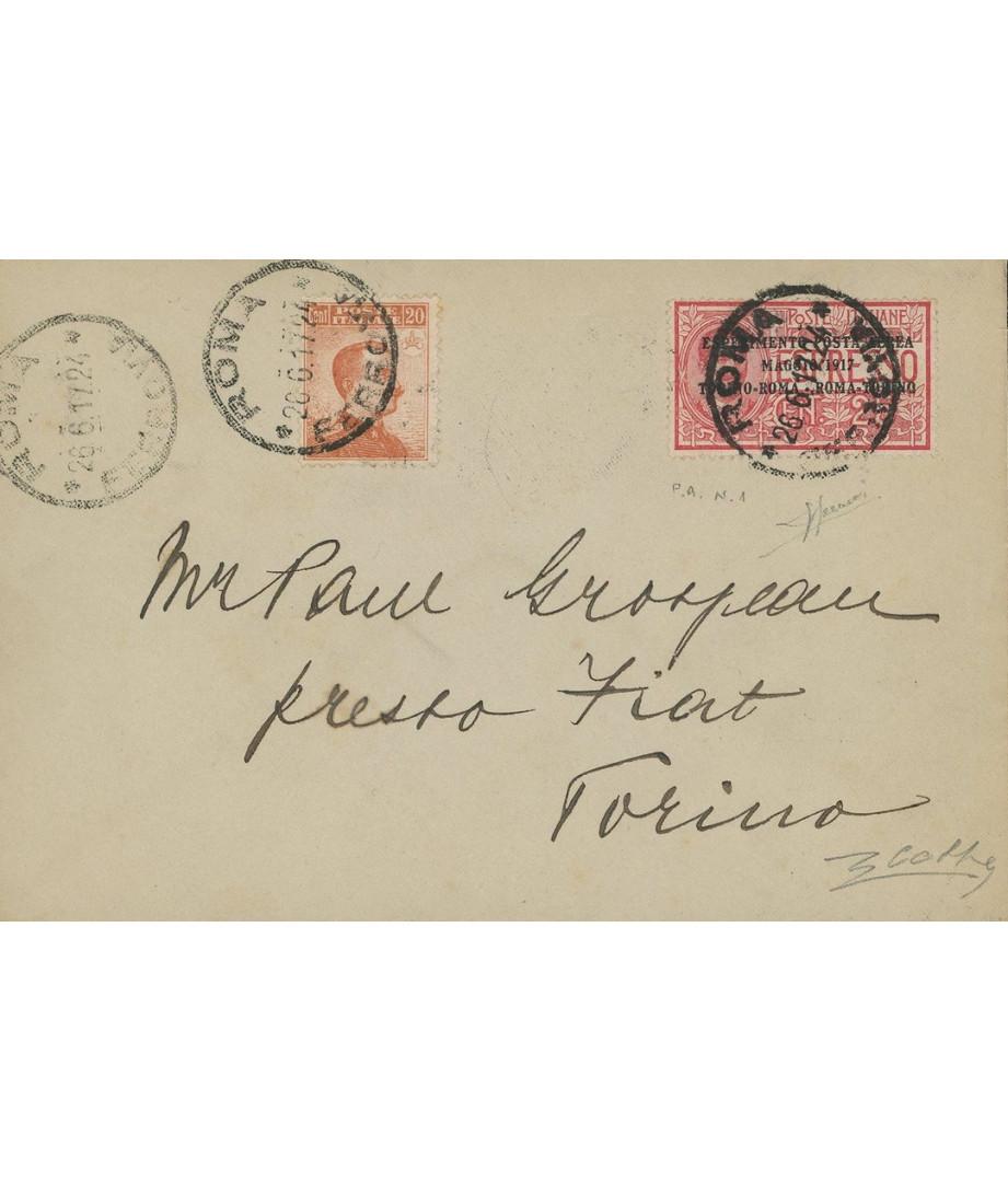 Italia - 1917 - Primo esperimento di...