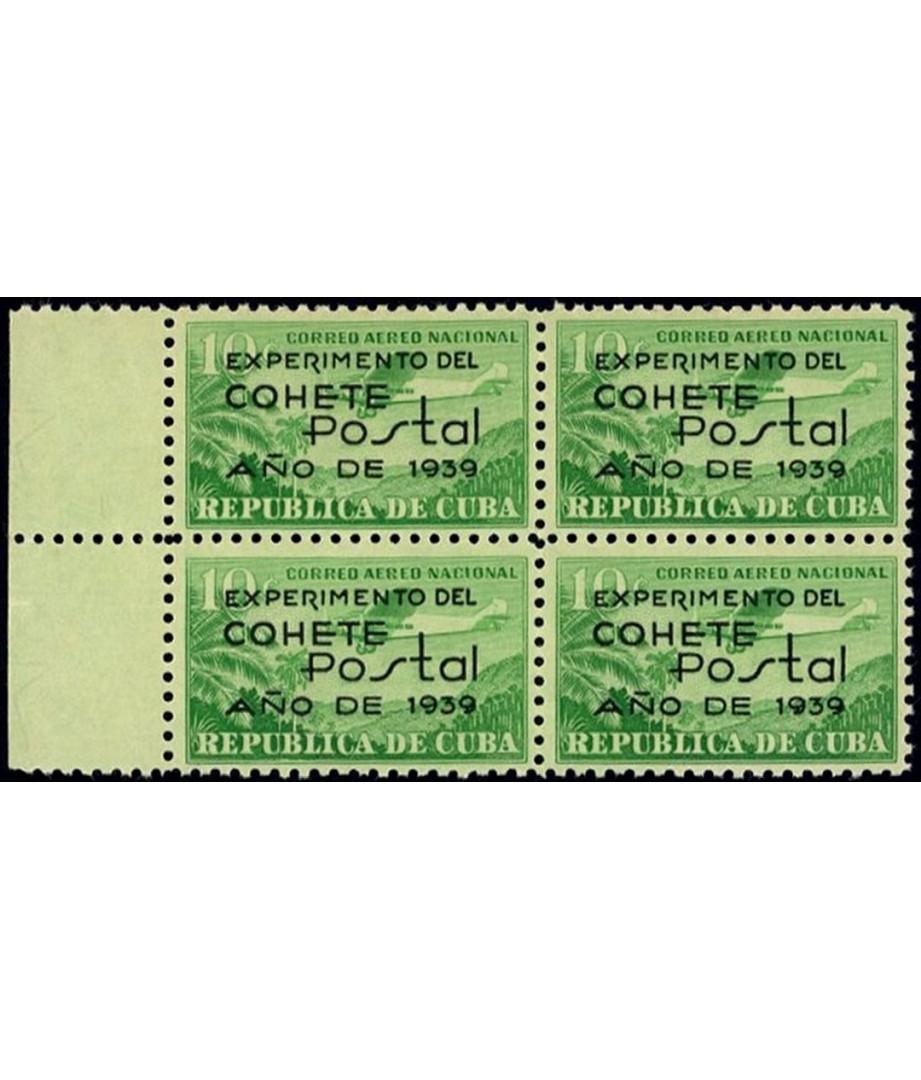 Cuba - 1939 - primo francobollo al...