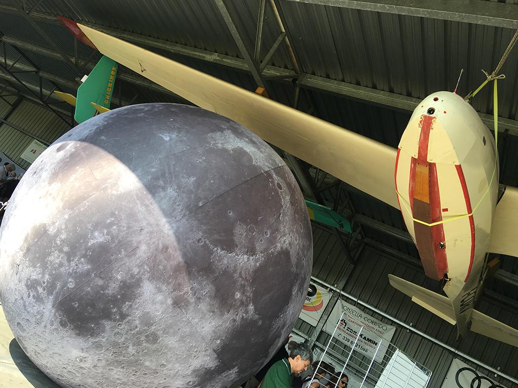 Palloni aerostatici luna