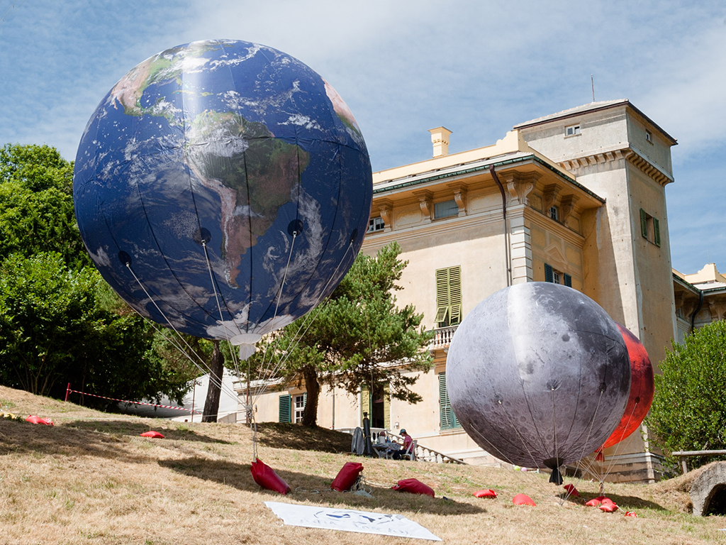 Palloni aerostatici terra