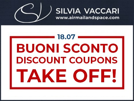 Discount coupons for all airmailandspace.com products starting from 18th July